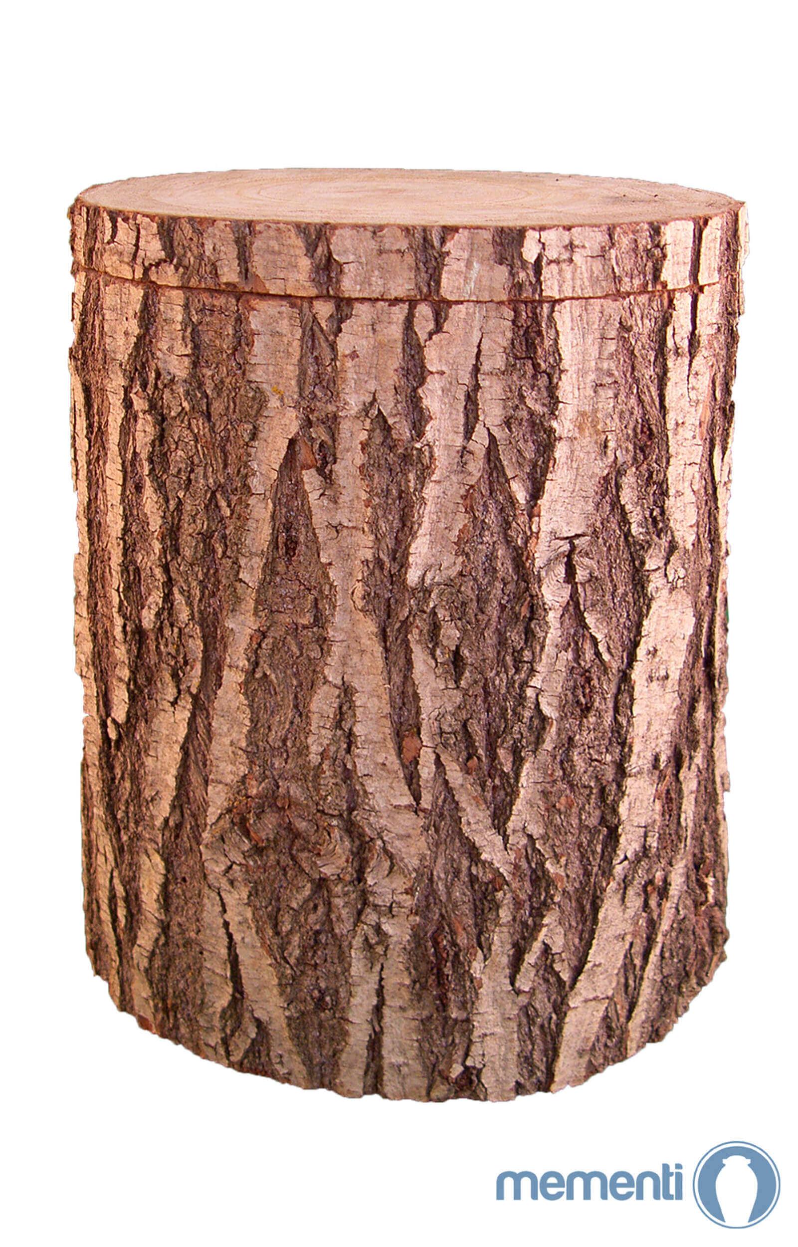 de H2209B baumstamm weide holzurne urnen kaufen