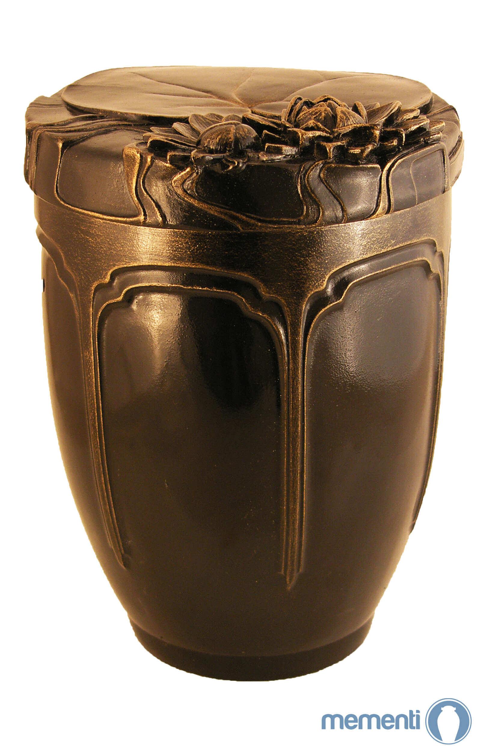 de KB1578 keramik urne kaufen keramikurne seerose