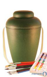 de MVG1405 bio urne malset vale gruen urnen selbst bemalen