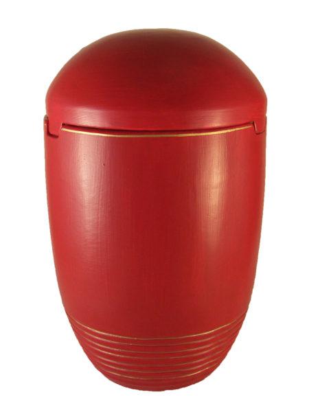 de SK7020 Seeurne See Urnen Bio rot Goldrand Urnen kaufen
