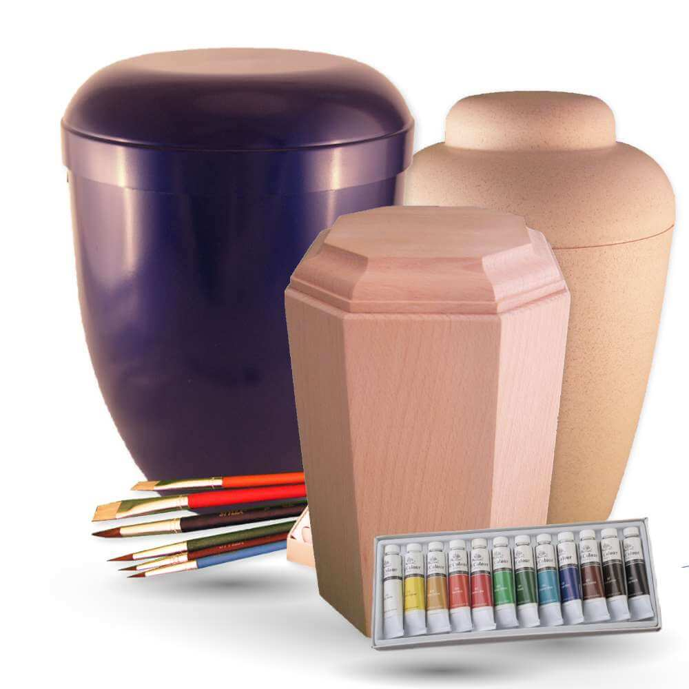 Design your own urns - Painting Set Urns