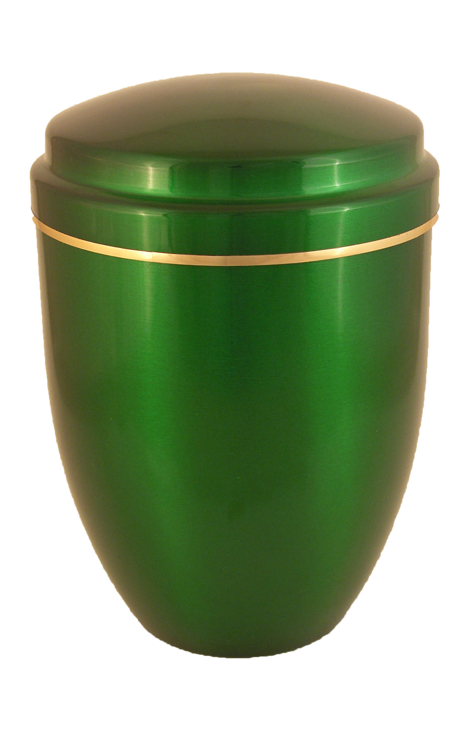 en AG5598 funeral urns on sale metall urn green light green