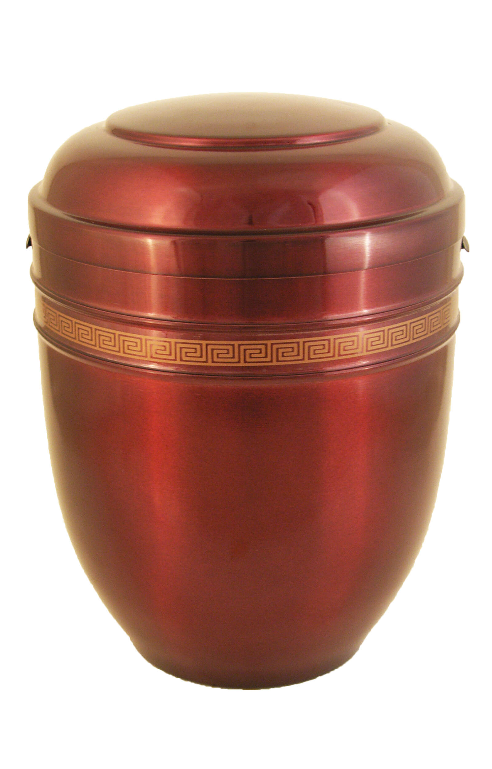 en AR5434 metall urn red gold funeral urn for human ashes glossy on sale