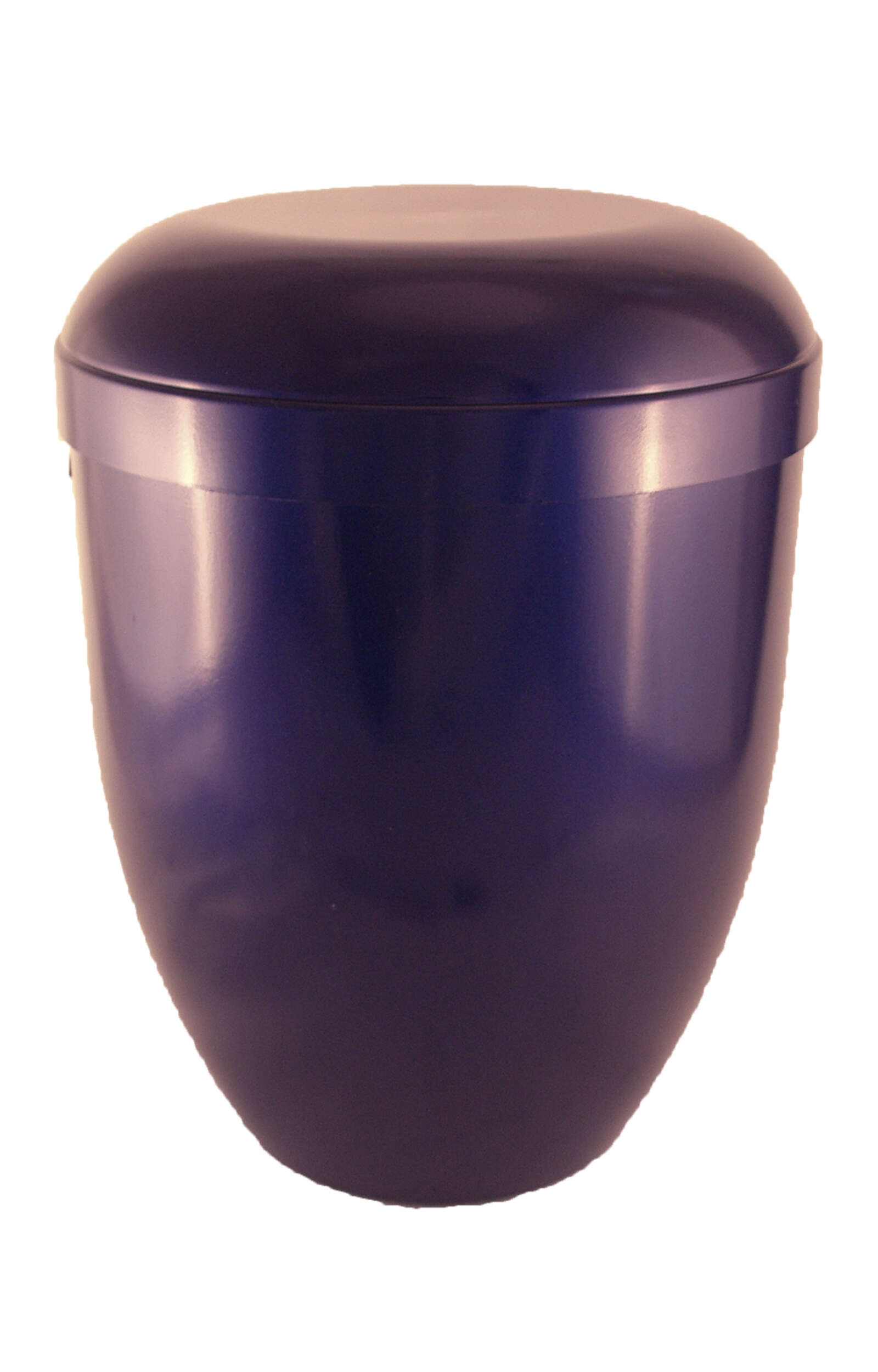 en BB3625 funeral urns for human ashes biodegradable urn glossy blue