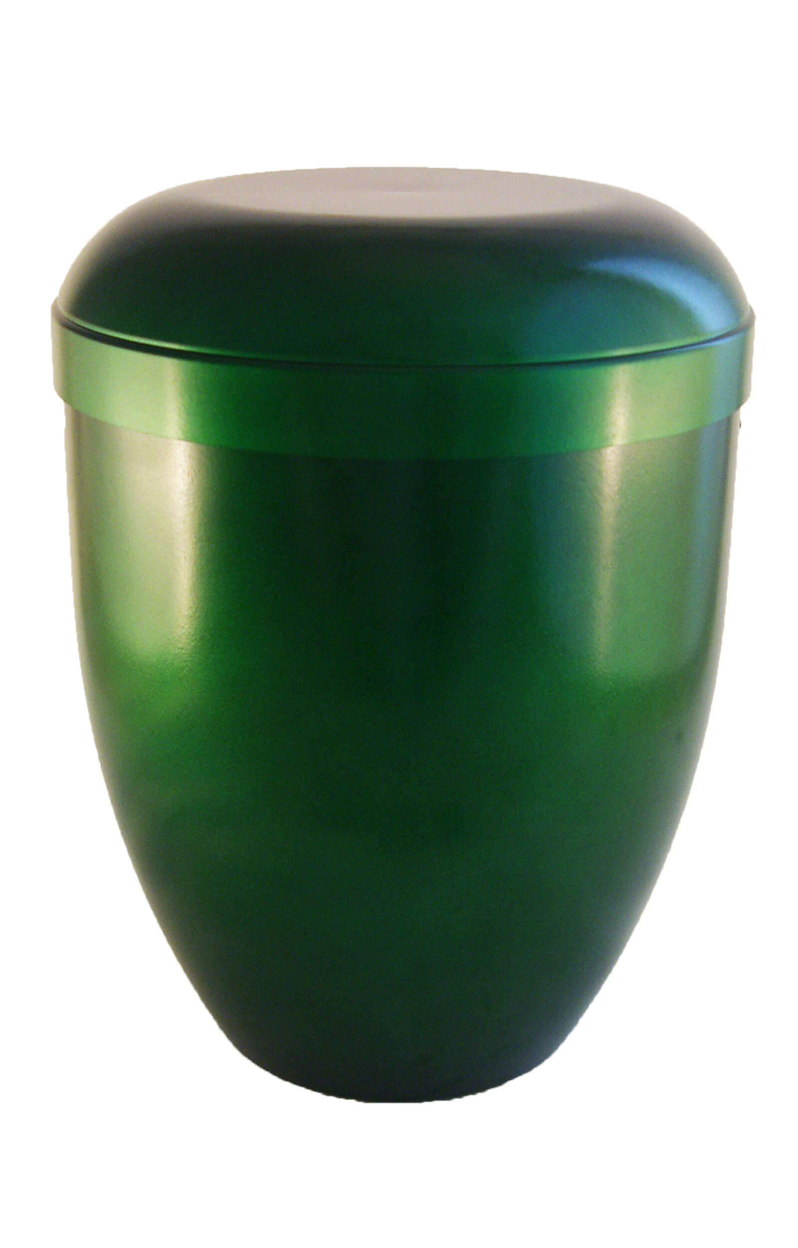en BGG3643 biodigradable green funeral urn for human ashes