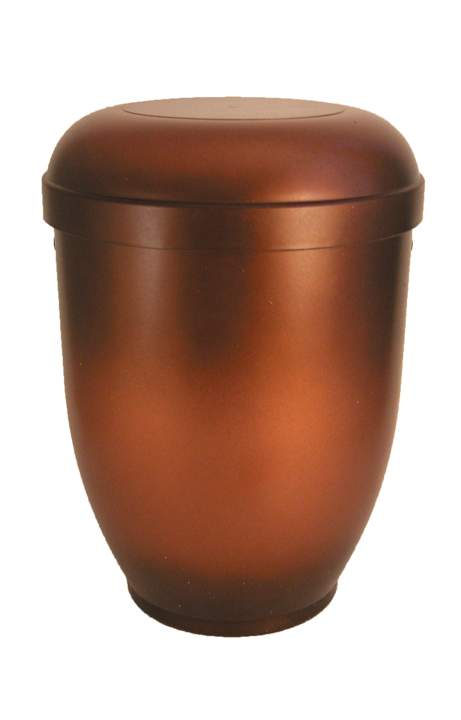 en BK3621 bio funeral urns for human ashes biodegradable urn copper meallic
