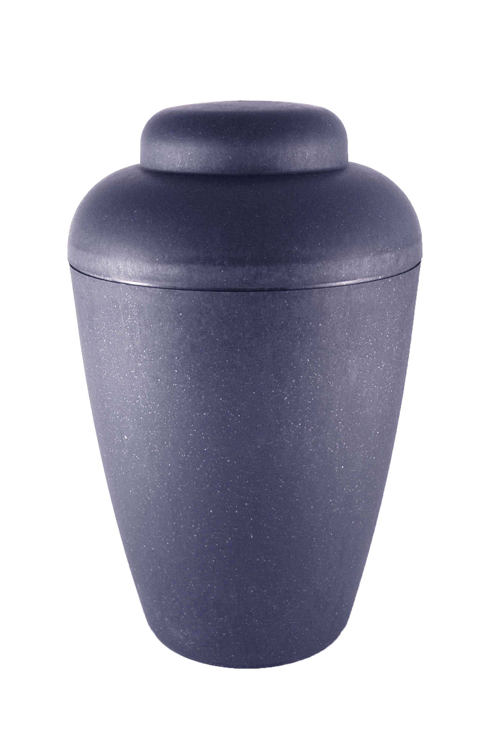biodigradable urn vale blue elegant shape funeral urns on sale