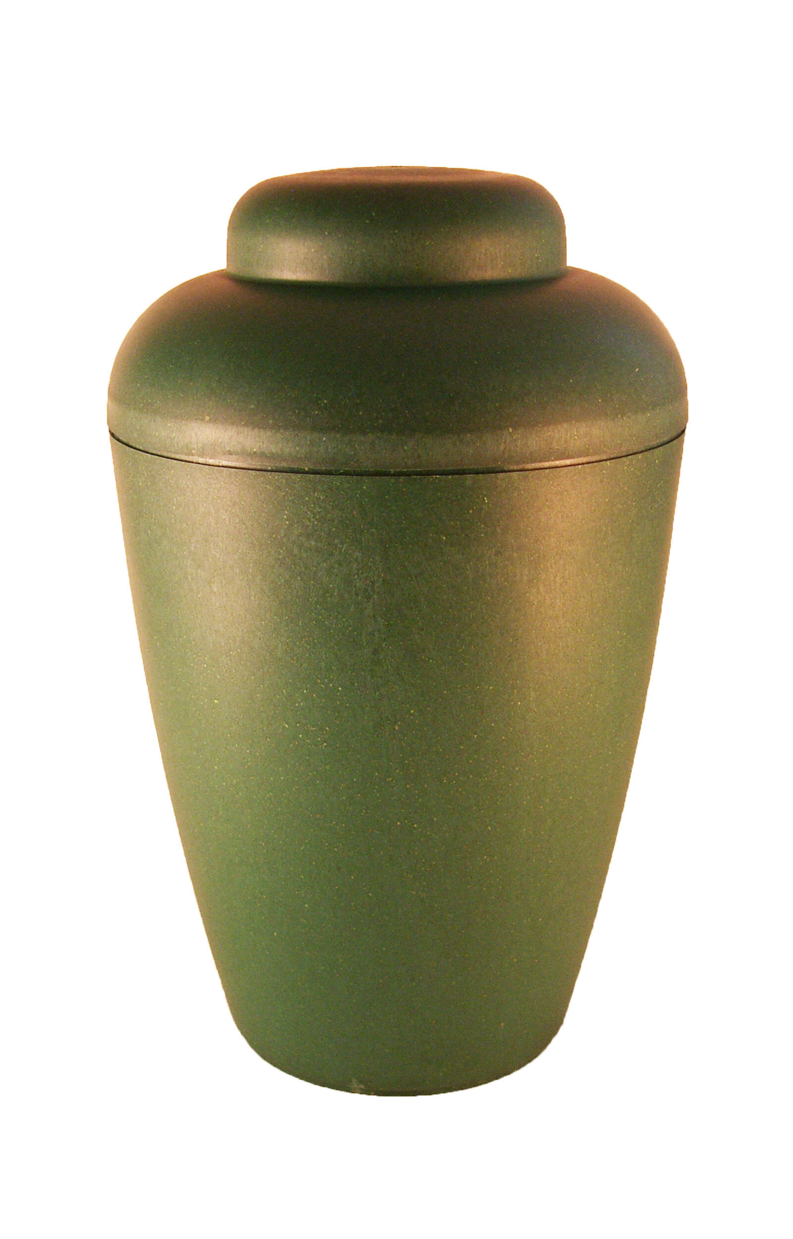 en BVG1405 biodigradable urn green elegant shape vale funeral urns for human ashes