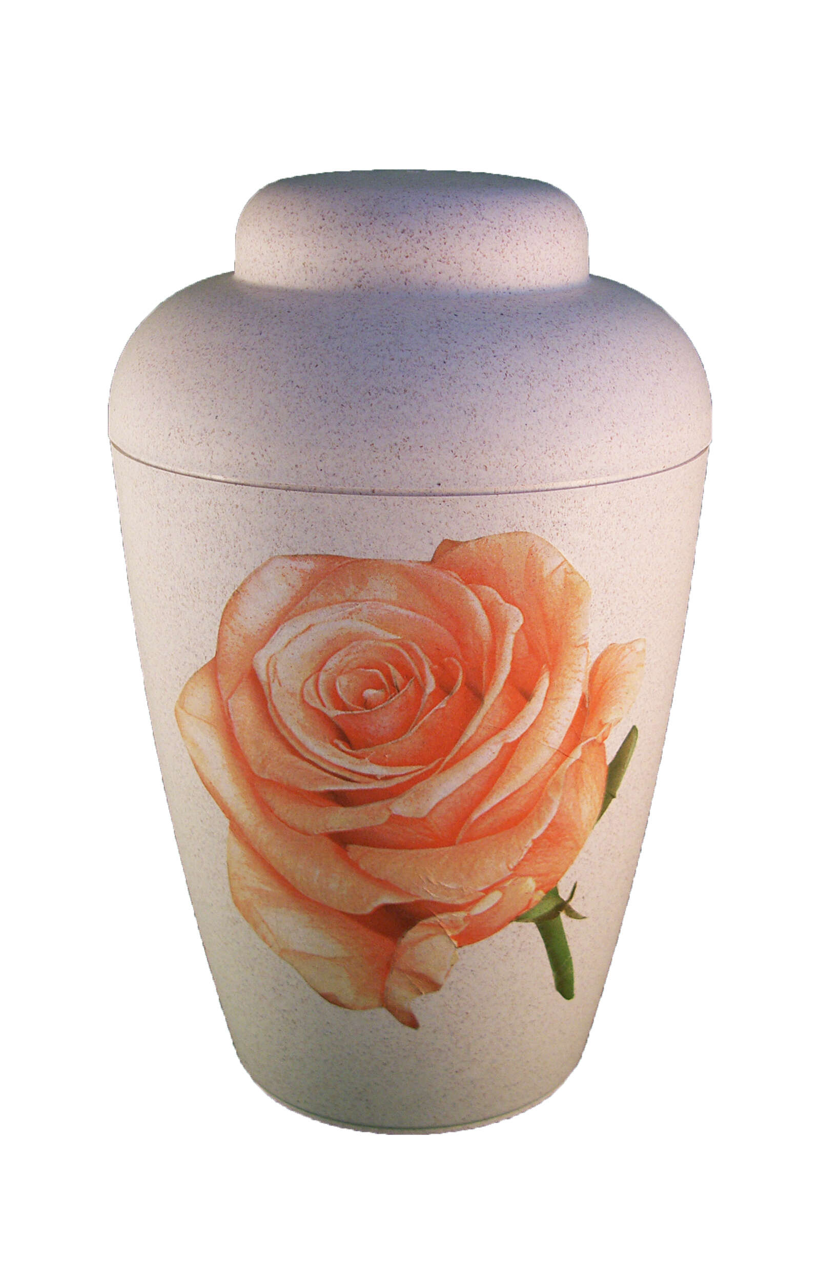 en BVR1702 bio funeral urns for human ashes vale pink roses