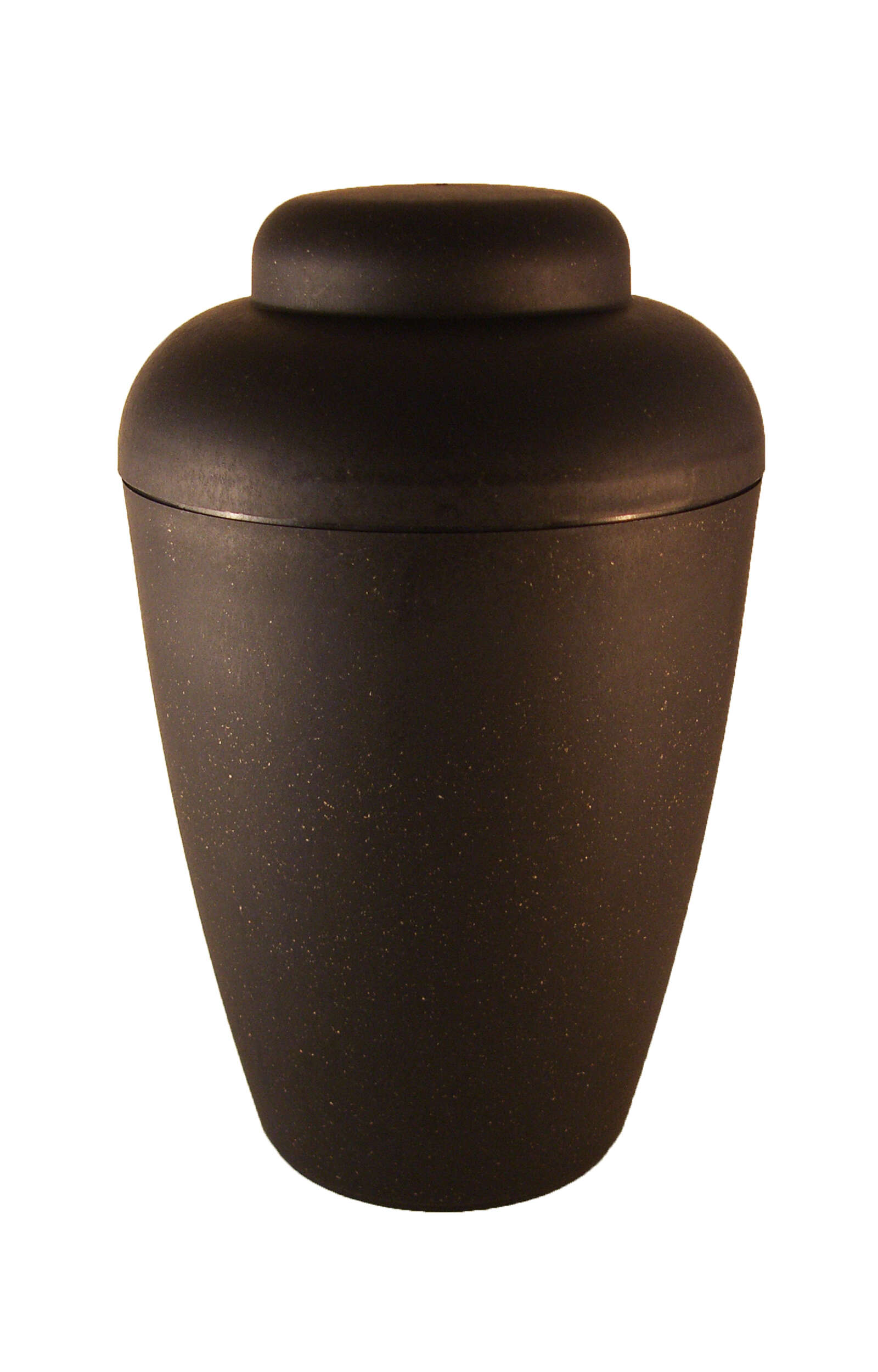 en BVS1407 biodigradable urn vale black elegant shape funeral urn for human ashes order now