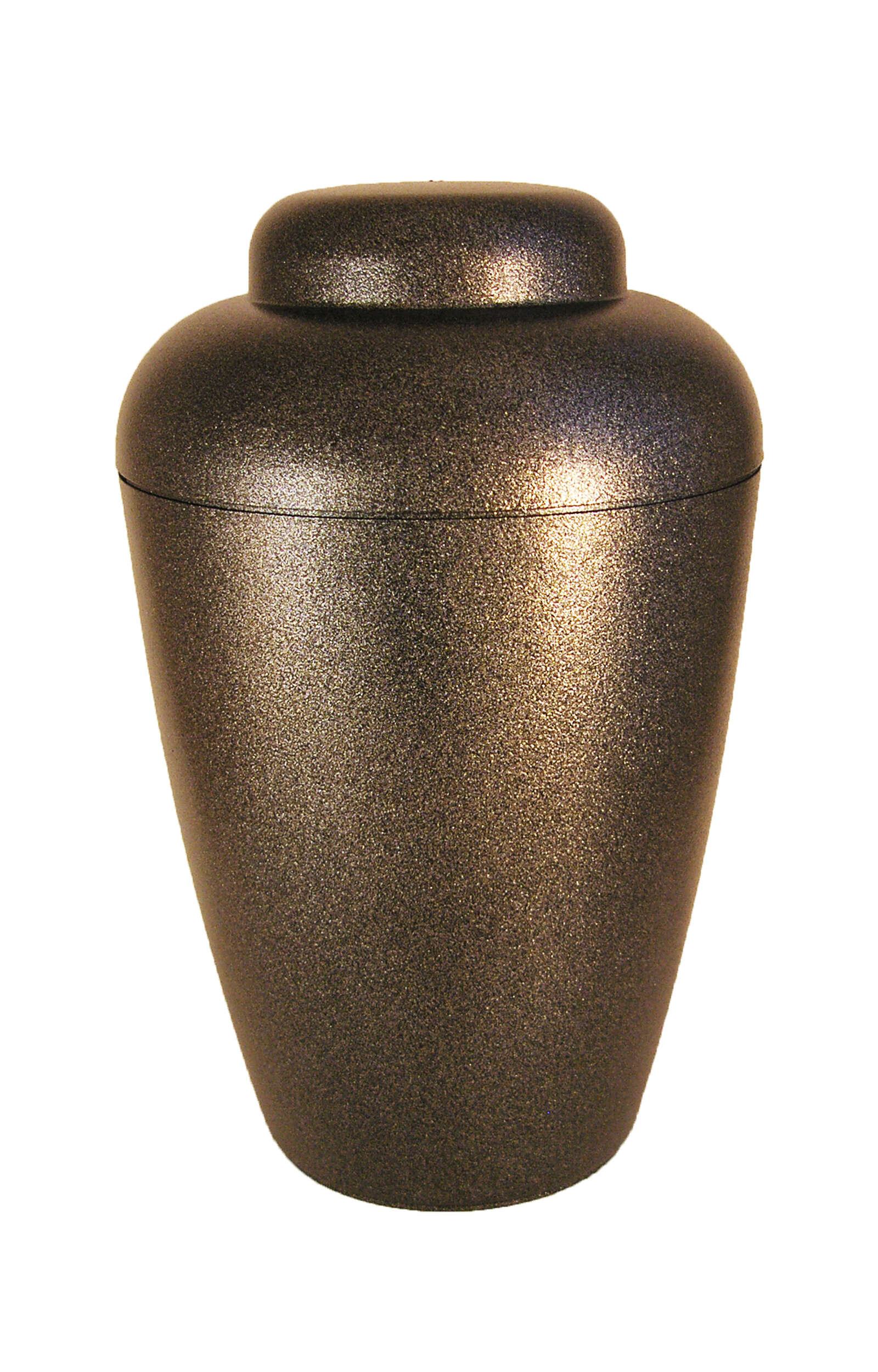 en BVSS1408 biodigradable urn black glossy star dust funeral urn for human ashes on sale