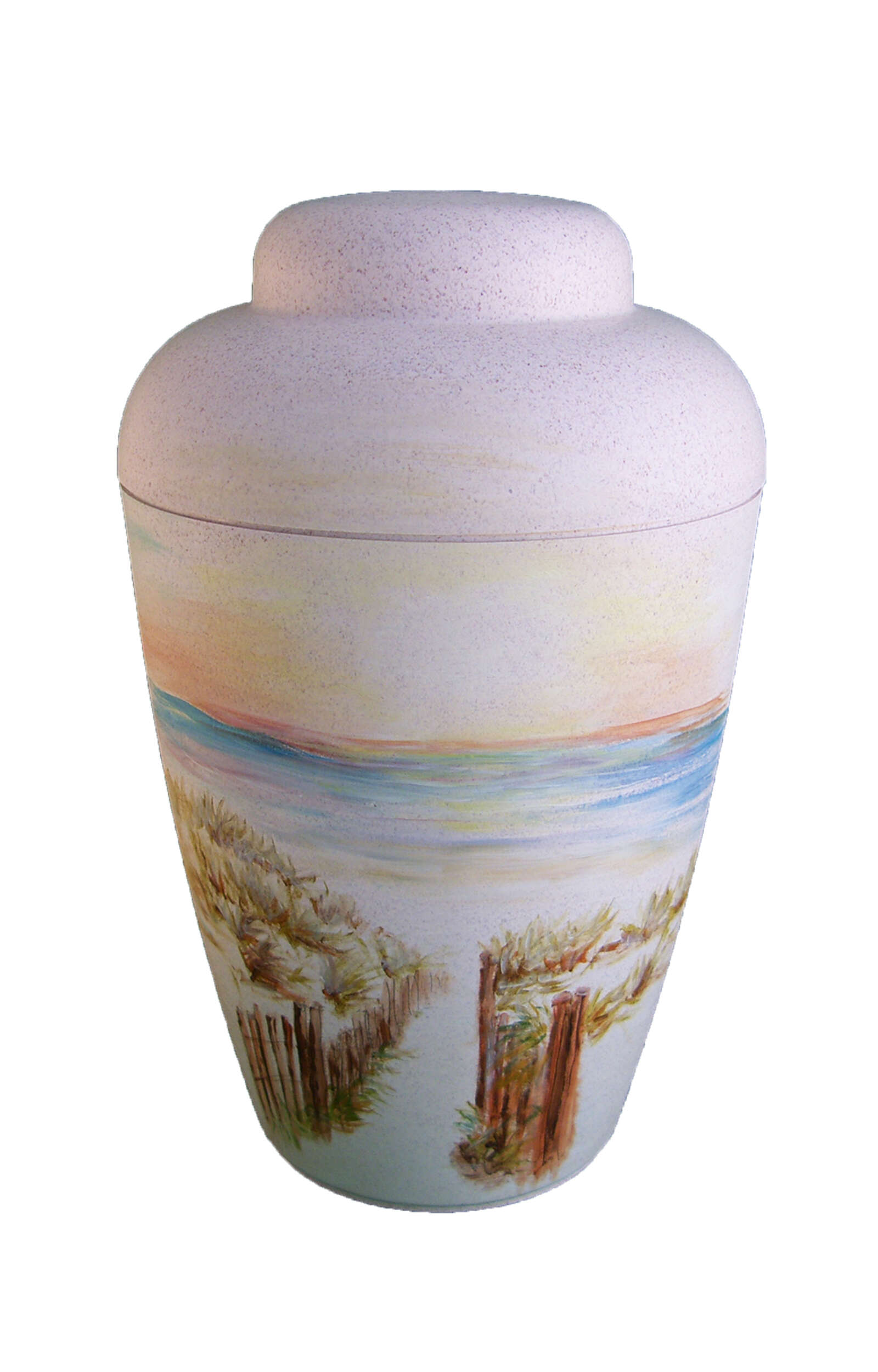 en BW1501 beach food path sea sunset biodigradable urn