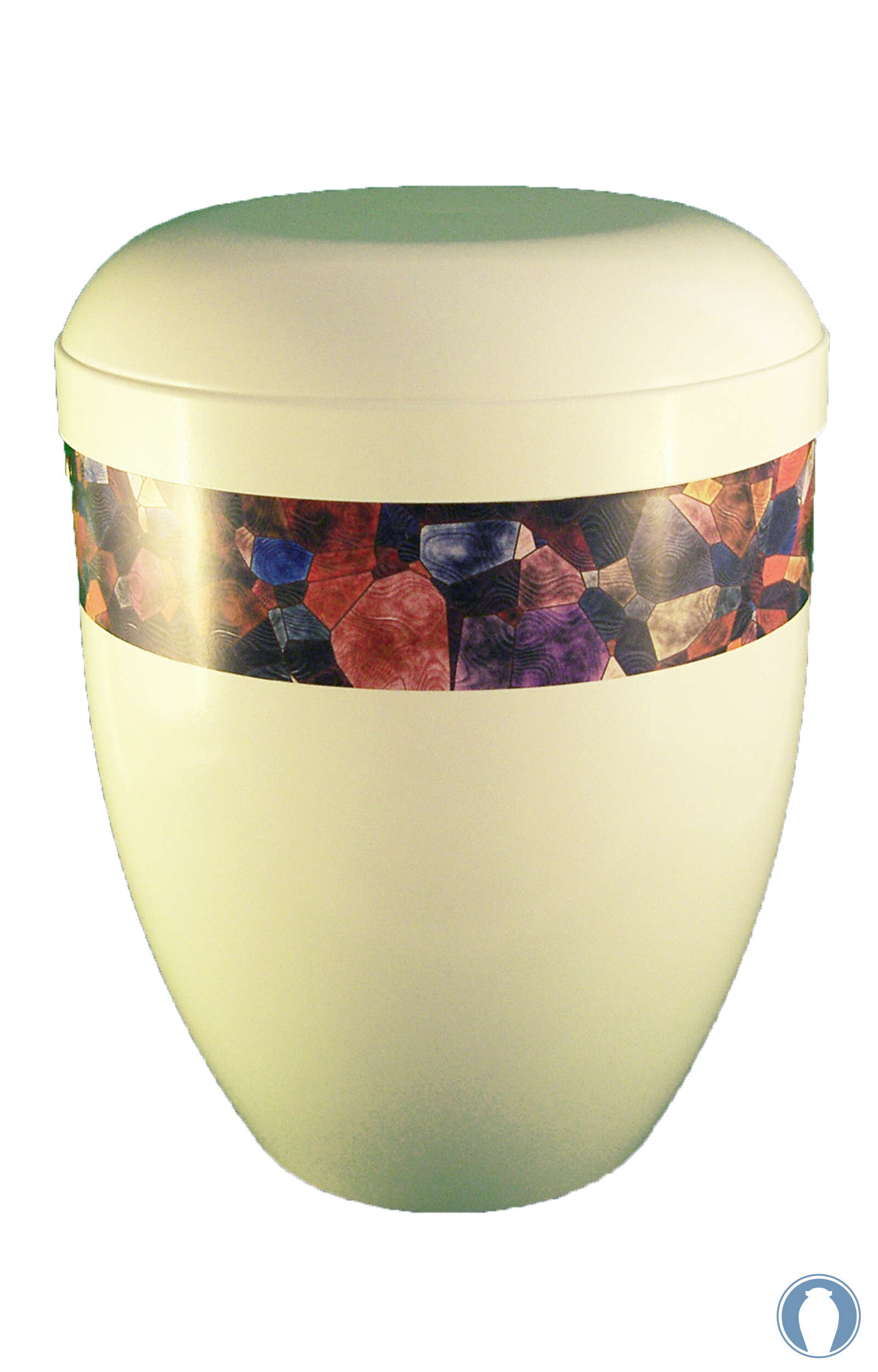 en BWG3707 panorama urn biodegradable abstract art