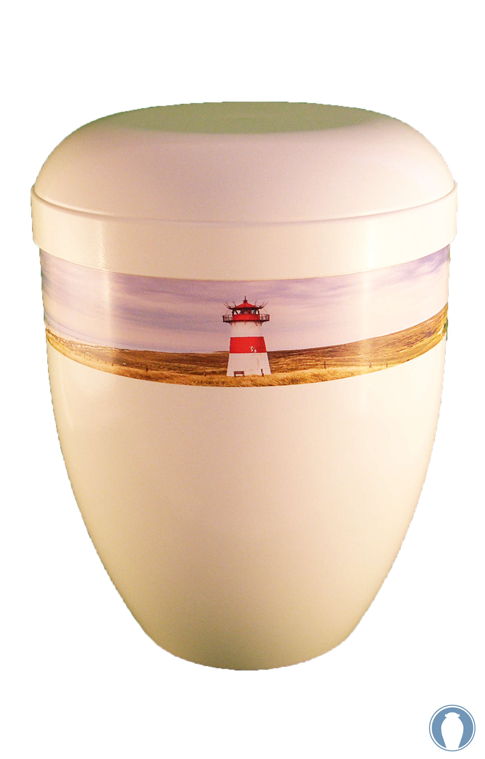 en BWG3712 funeral urn for human ashes with lighthouse