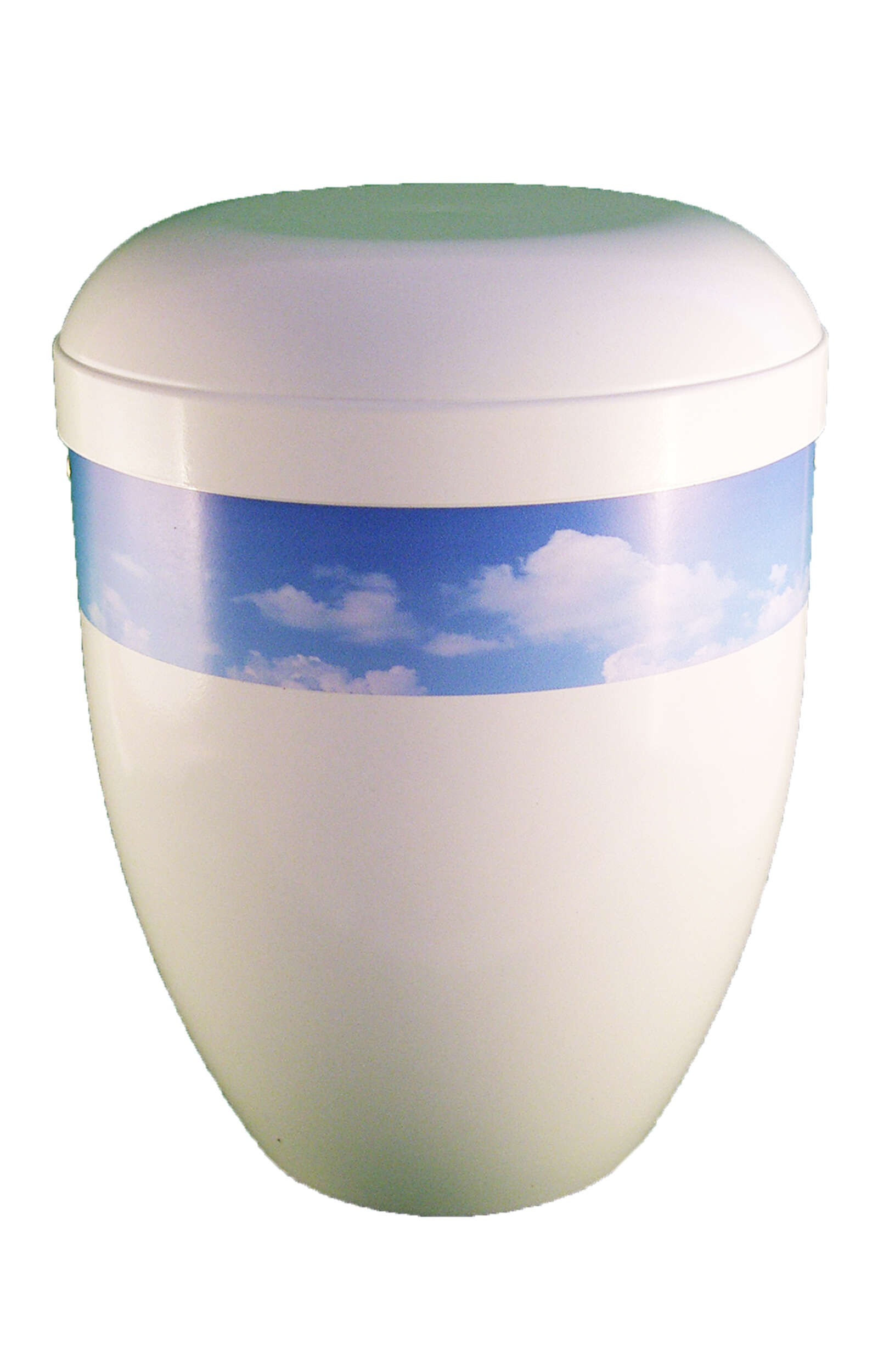 en BWG3713 funeral urn for human ashes sky clouds