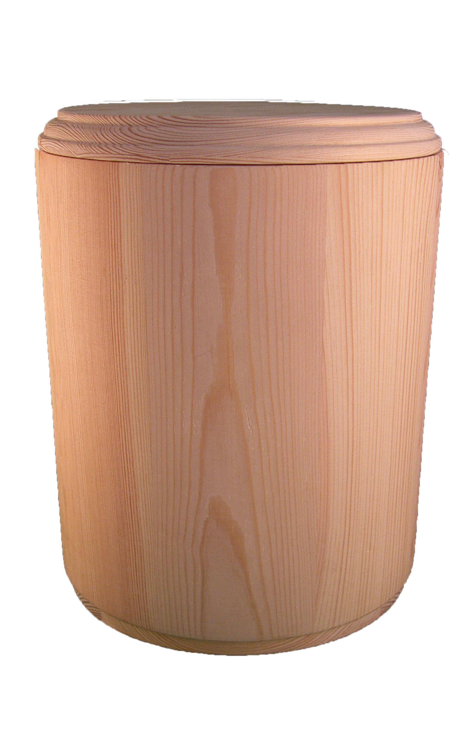 en H1809C wooden funeral urn biodigradable