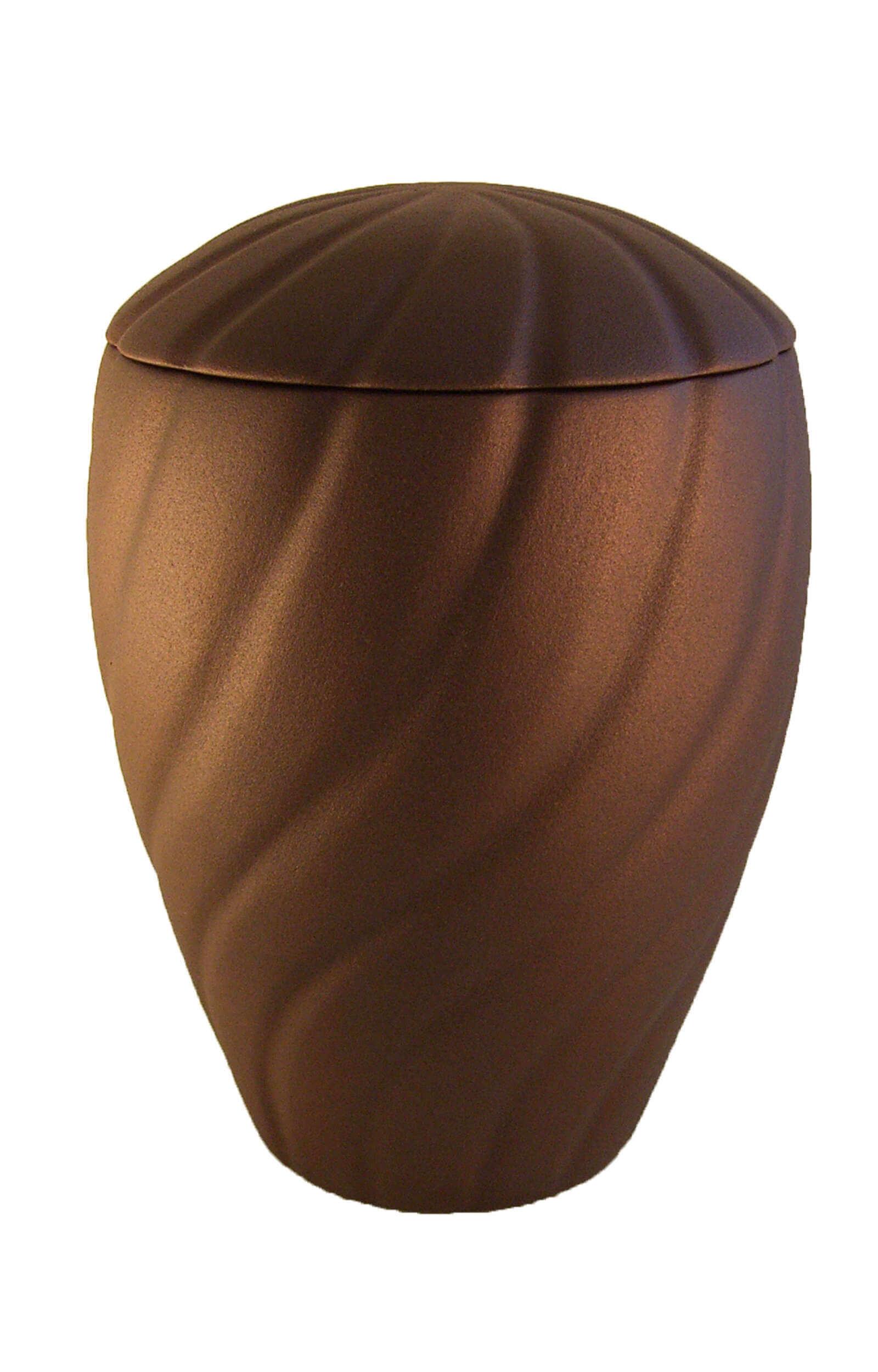 en K01 ceramic urn wave gold brown funeral urns for human ashes