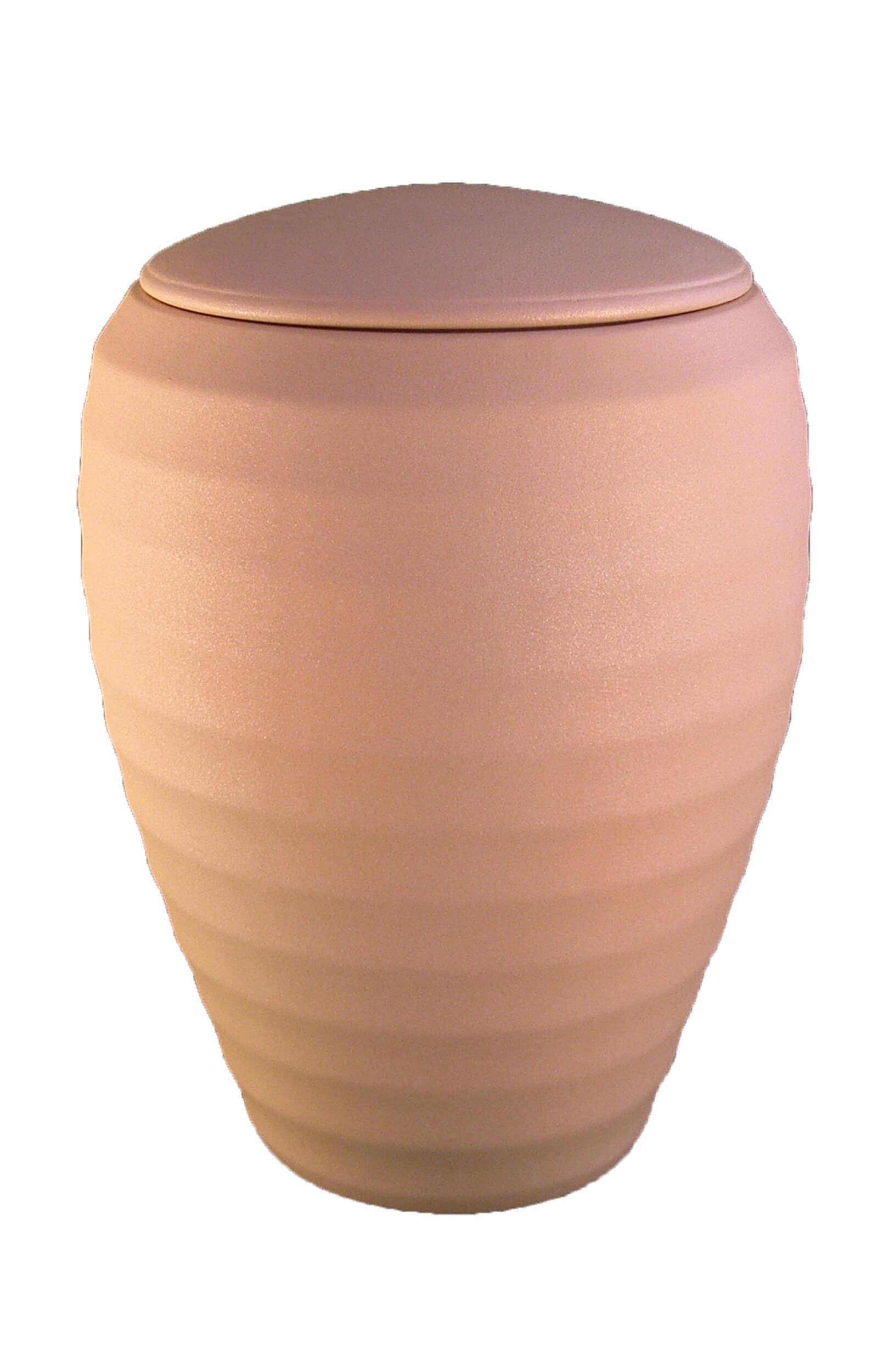 en K02 ceramic urn cream white