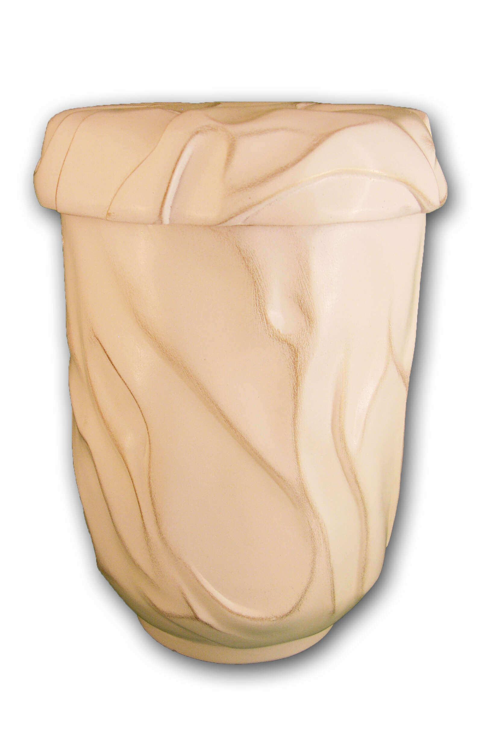en KW1532 ceramic urn funeral urn for human ashes ocean white