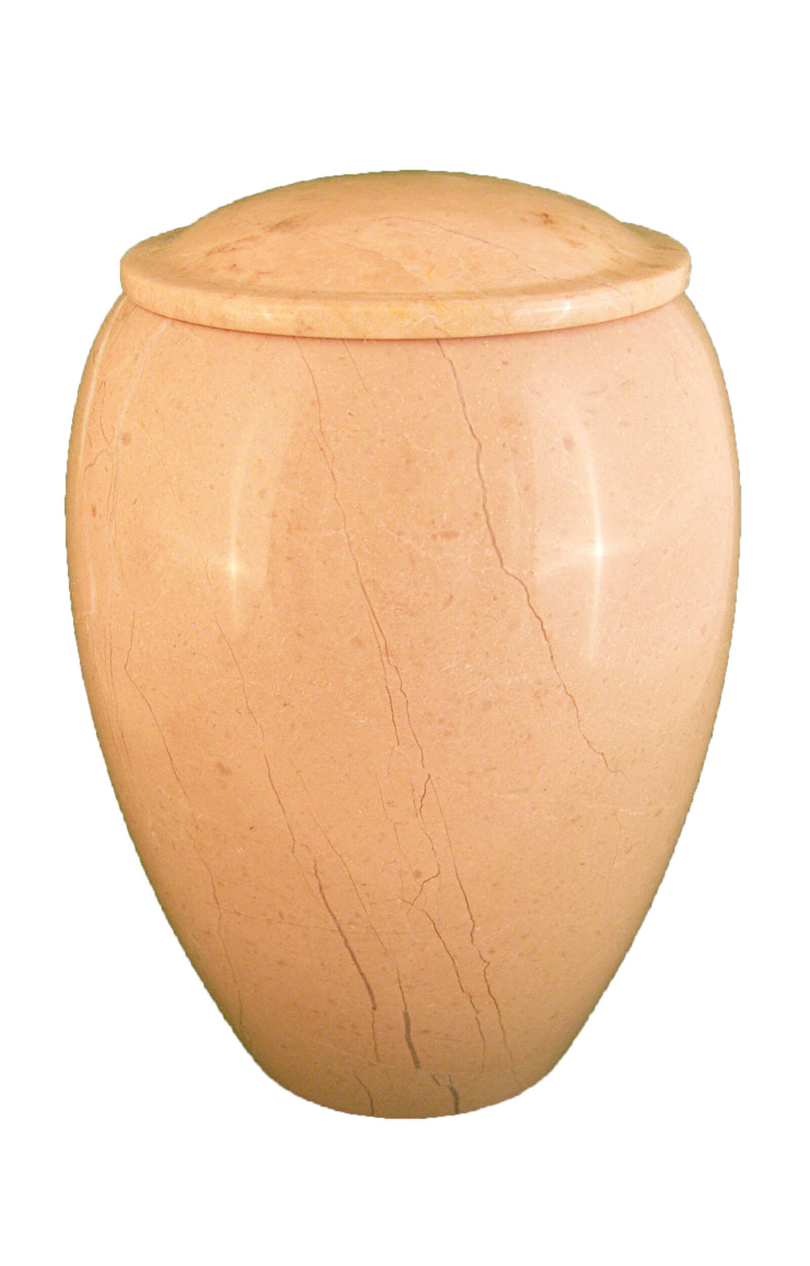 en MA2941 Verona marbel urn for human ashes beige cream white funeral urns on sale