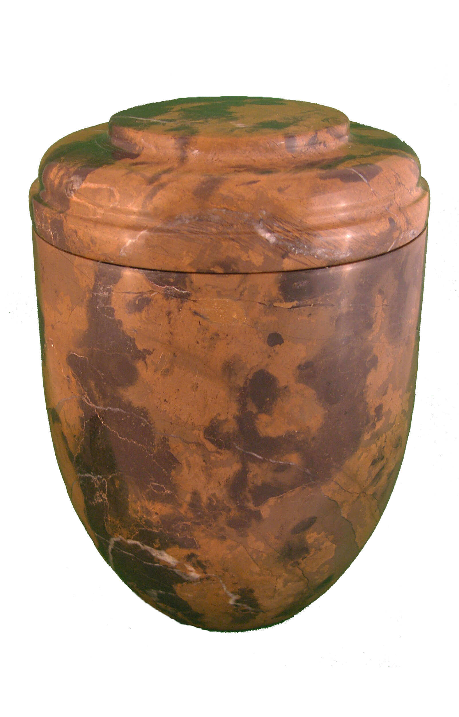 en MA2950 Michael Angelo marbel urn for human ashes brown black funeral urns on sale