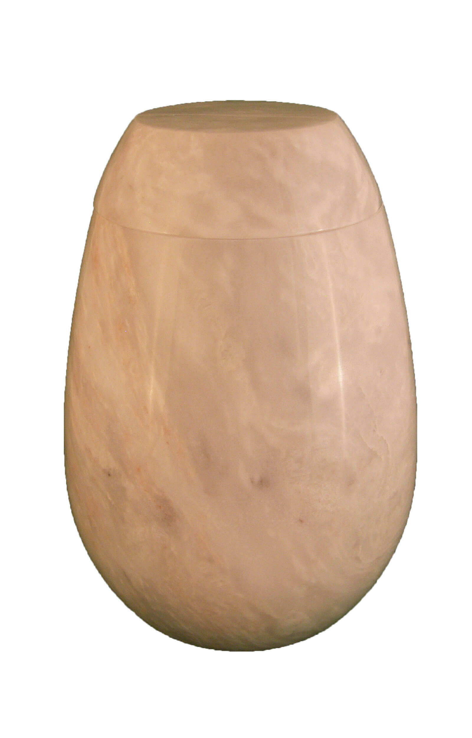 en MA2951 Ziarat marbel urn for human ashes white grey glossy round funeral urns on sale