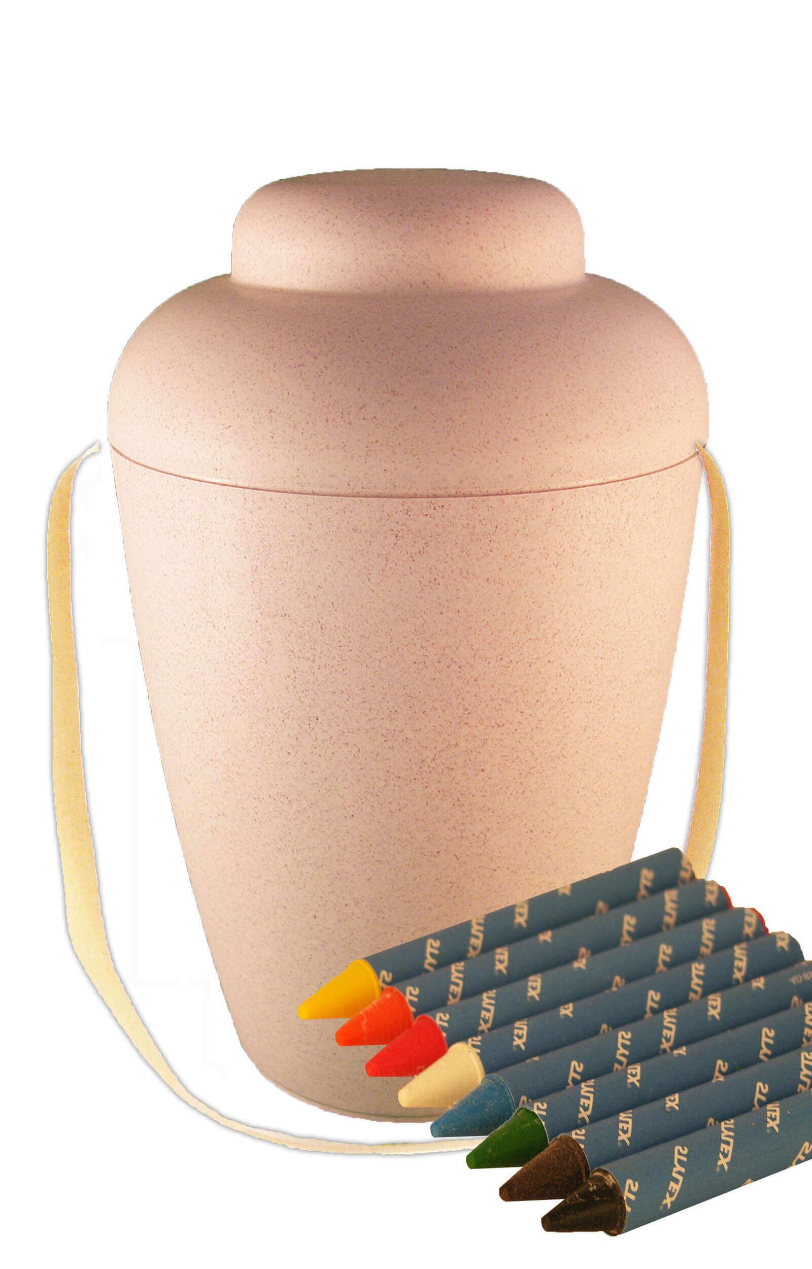 Bio ufuneral urn paintign set