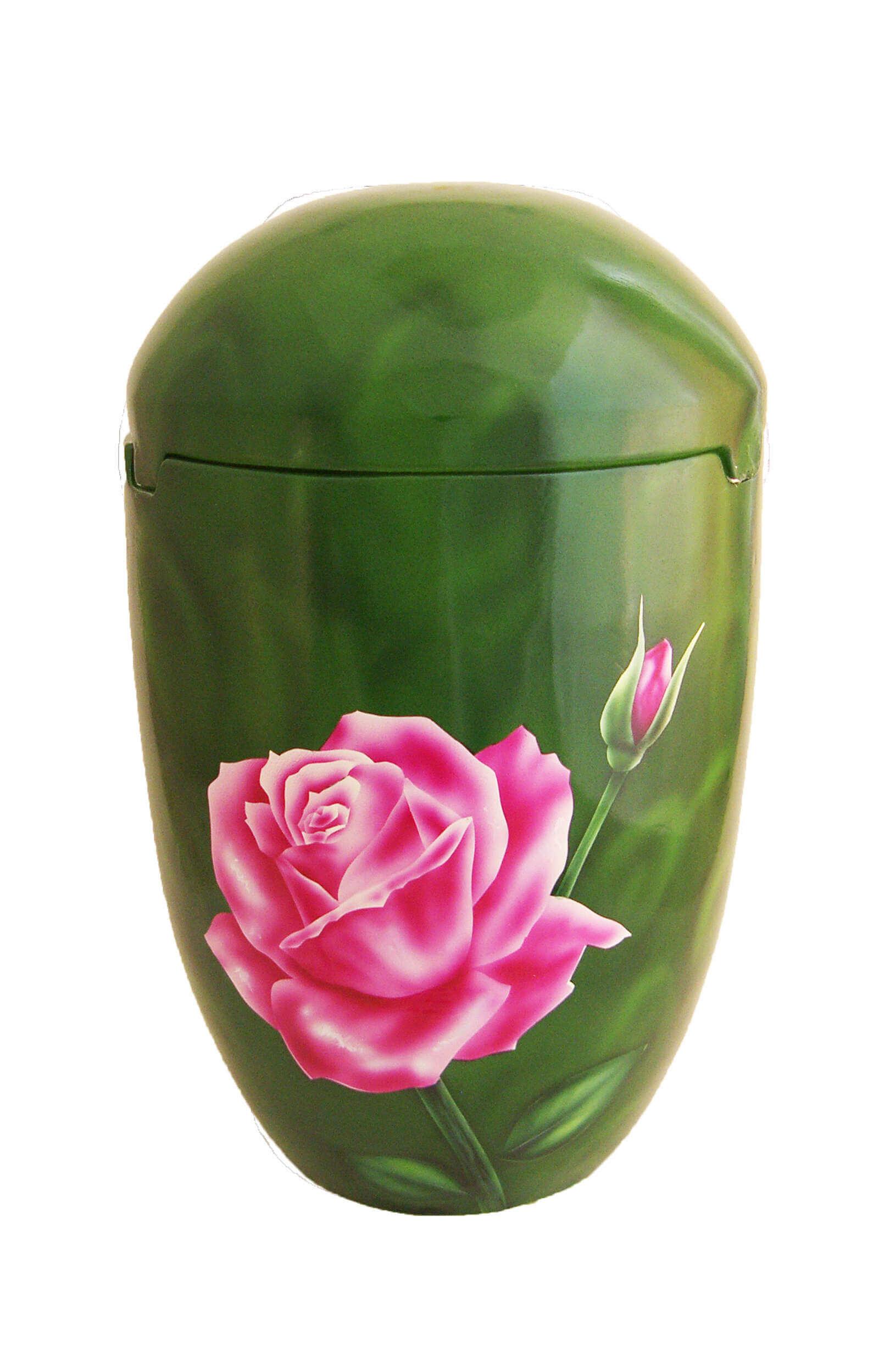 en SGR7023 sea urn rose pink funeral urns for human ashes biodigradable on sale
