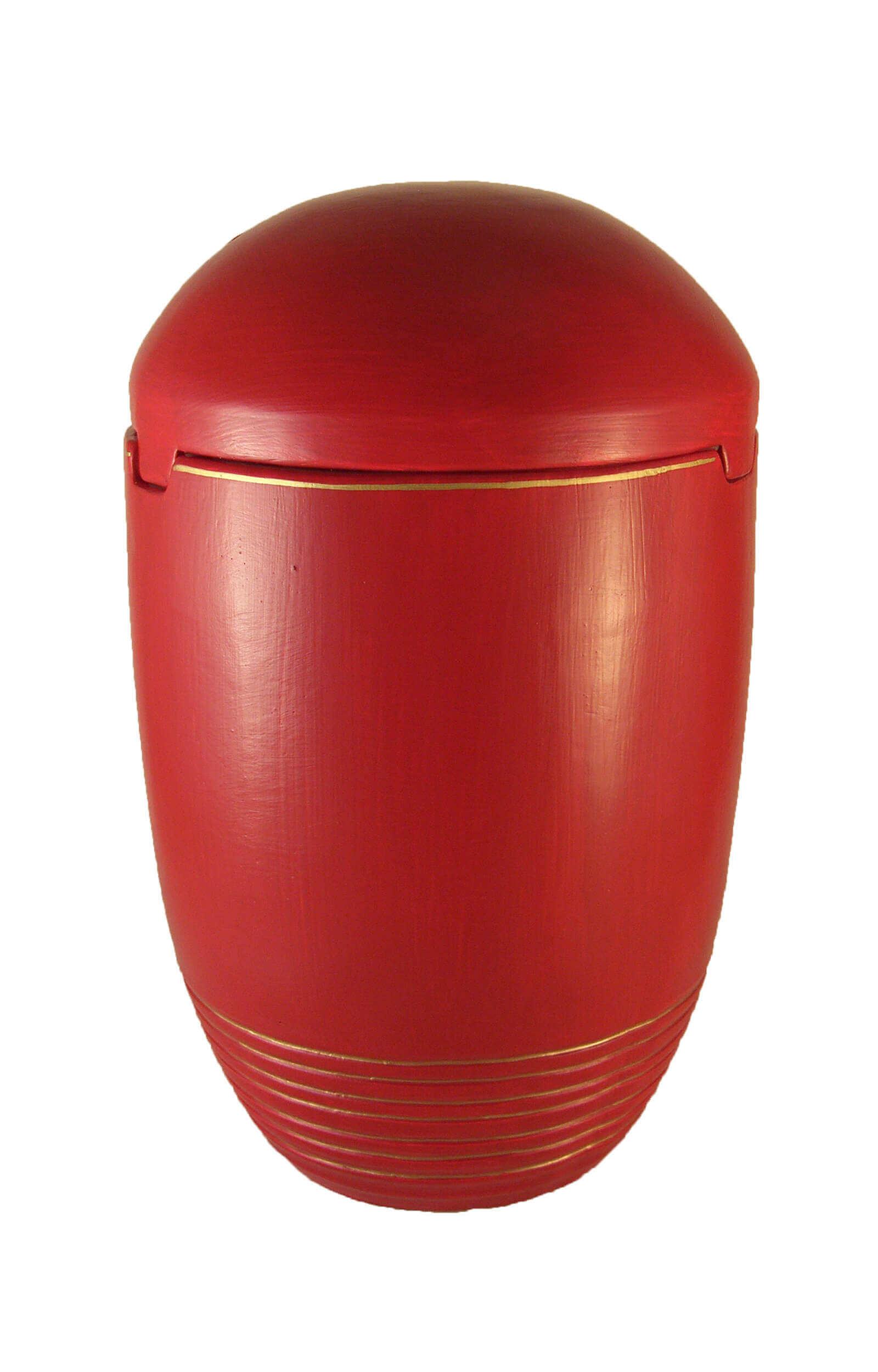 en SK7020 sea urn biodigradable red gold decor funeral urns on sale