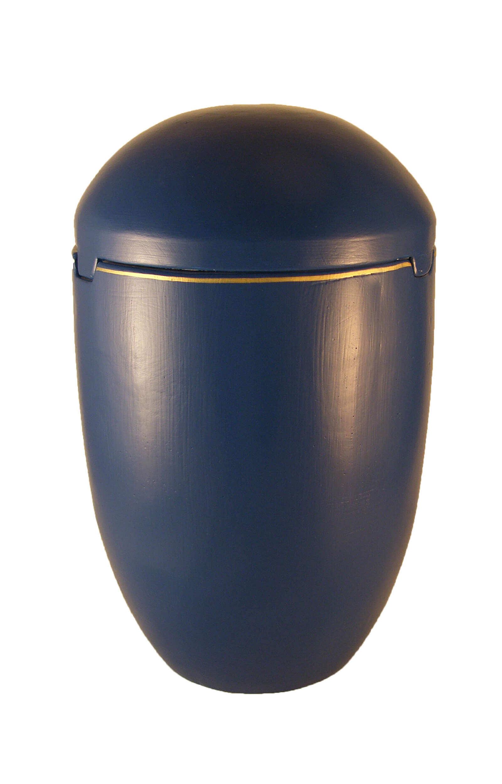 en SK7022 sea urn on sale sky blue gold decor funeral urns for human ashes