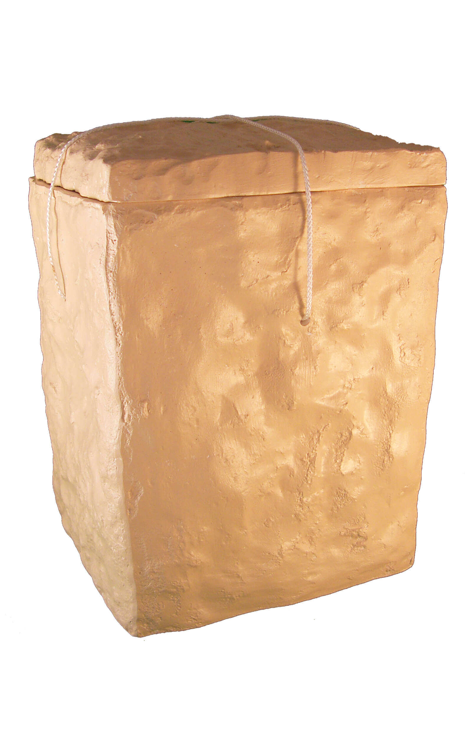 en SS7013 sea urn stone of eternity cream white beige funeral urns for human ashes on sale