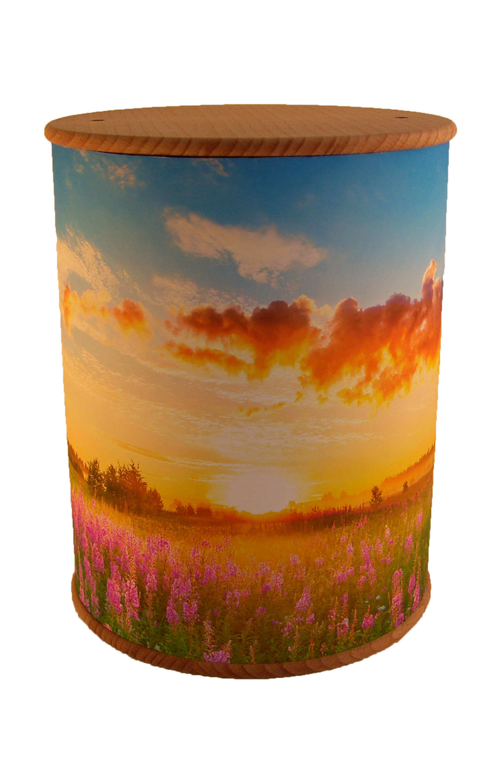en ZB001 photo urn wildflower meadow funeral urns for human ashes