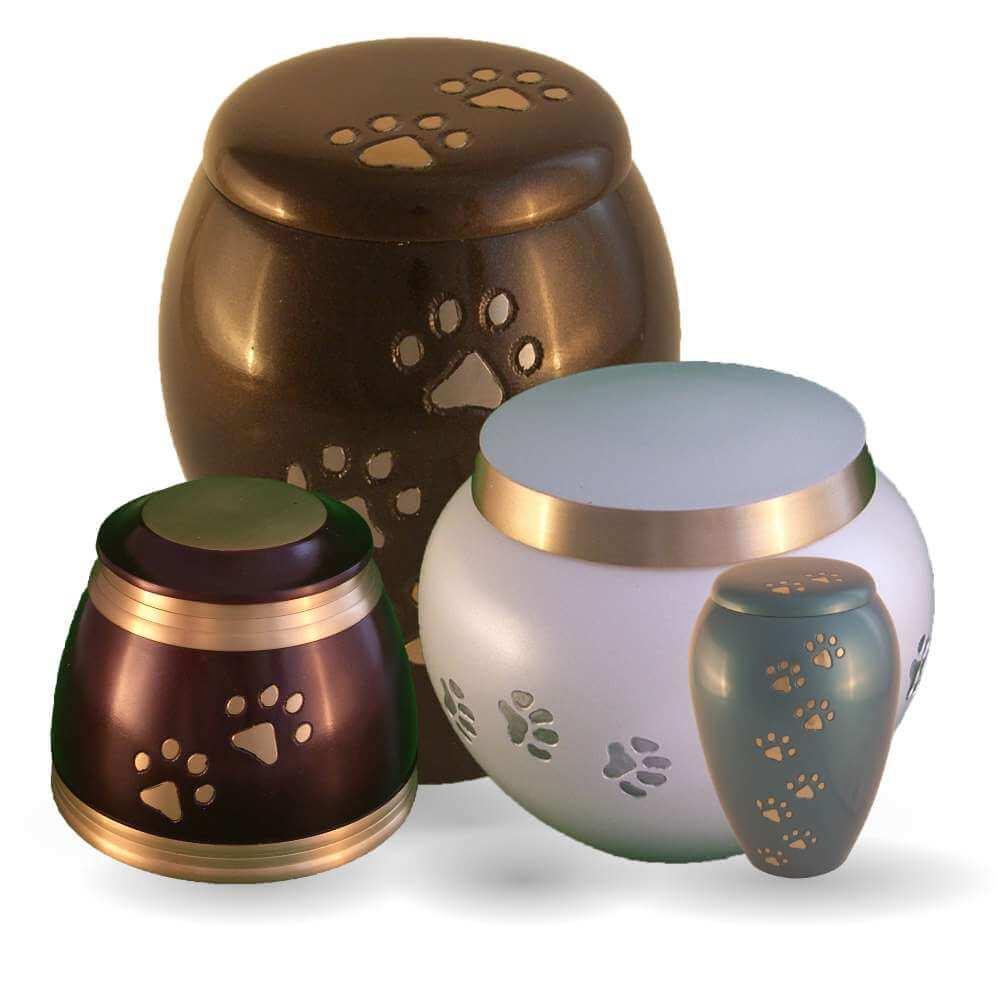 Metal Pet Urns