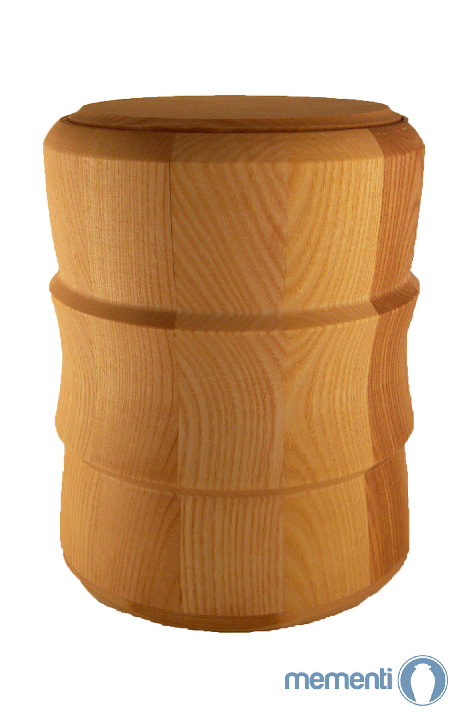 en HR01 ash tree wooden urn