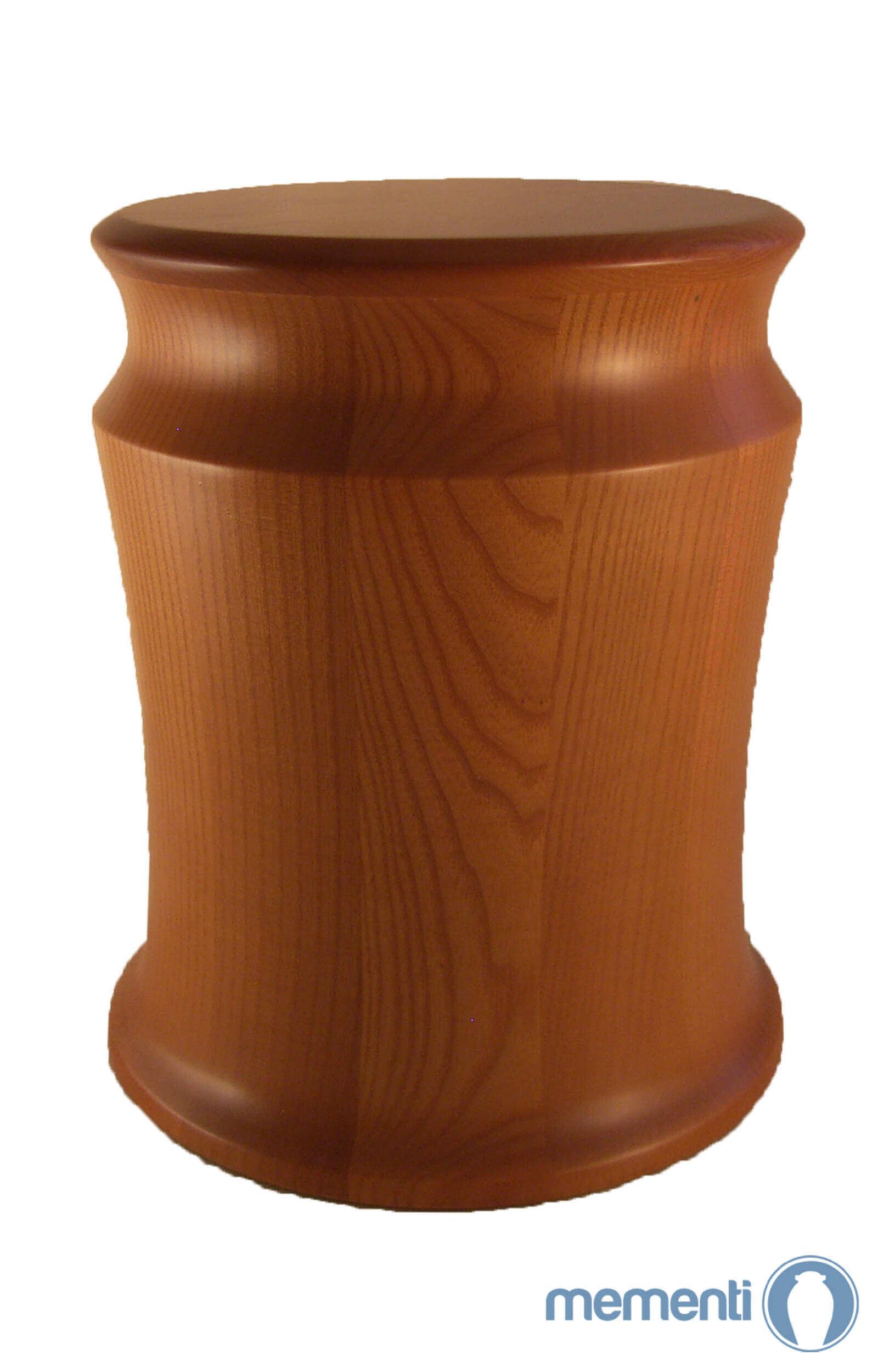 en HR06 dark ash tree wooden urn