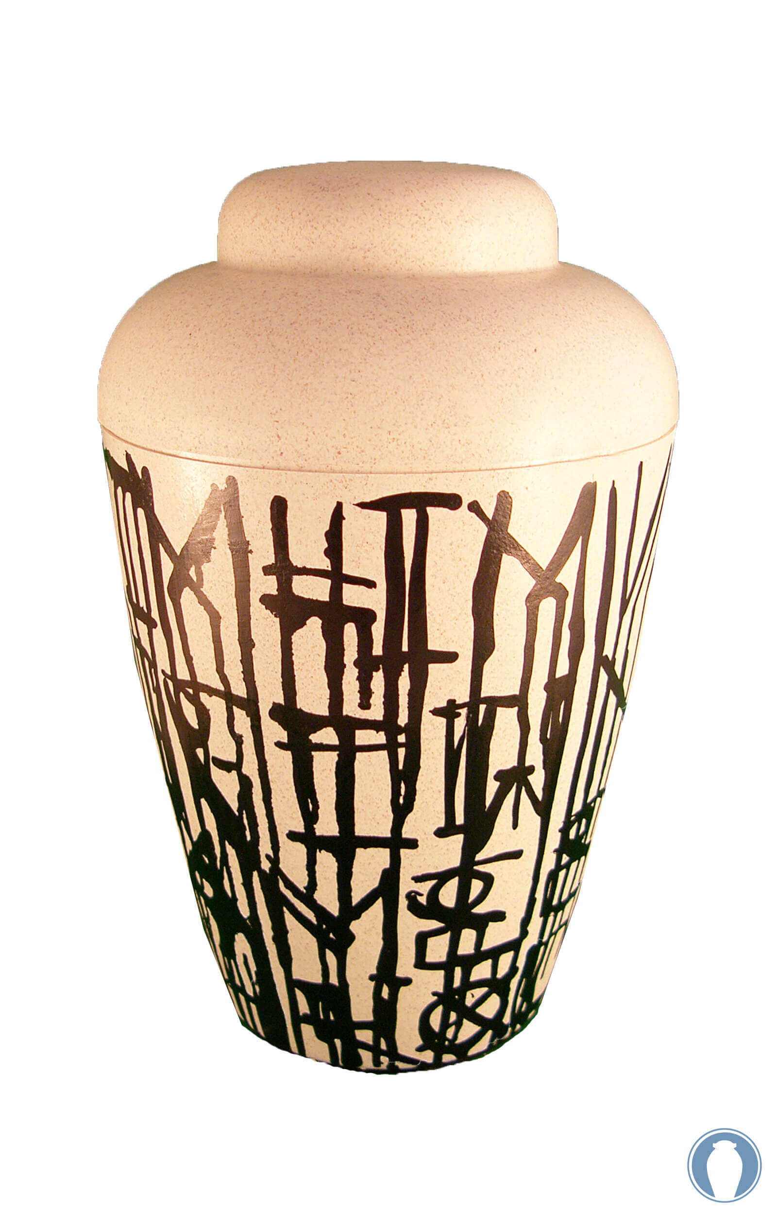 en KB02 biodegradable classic abstract urn