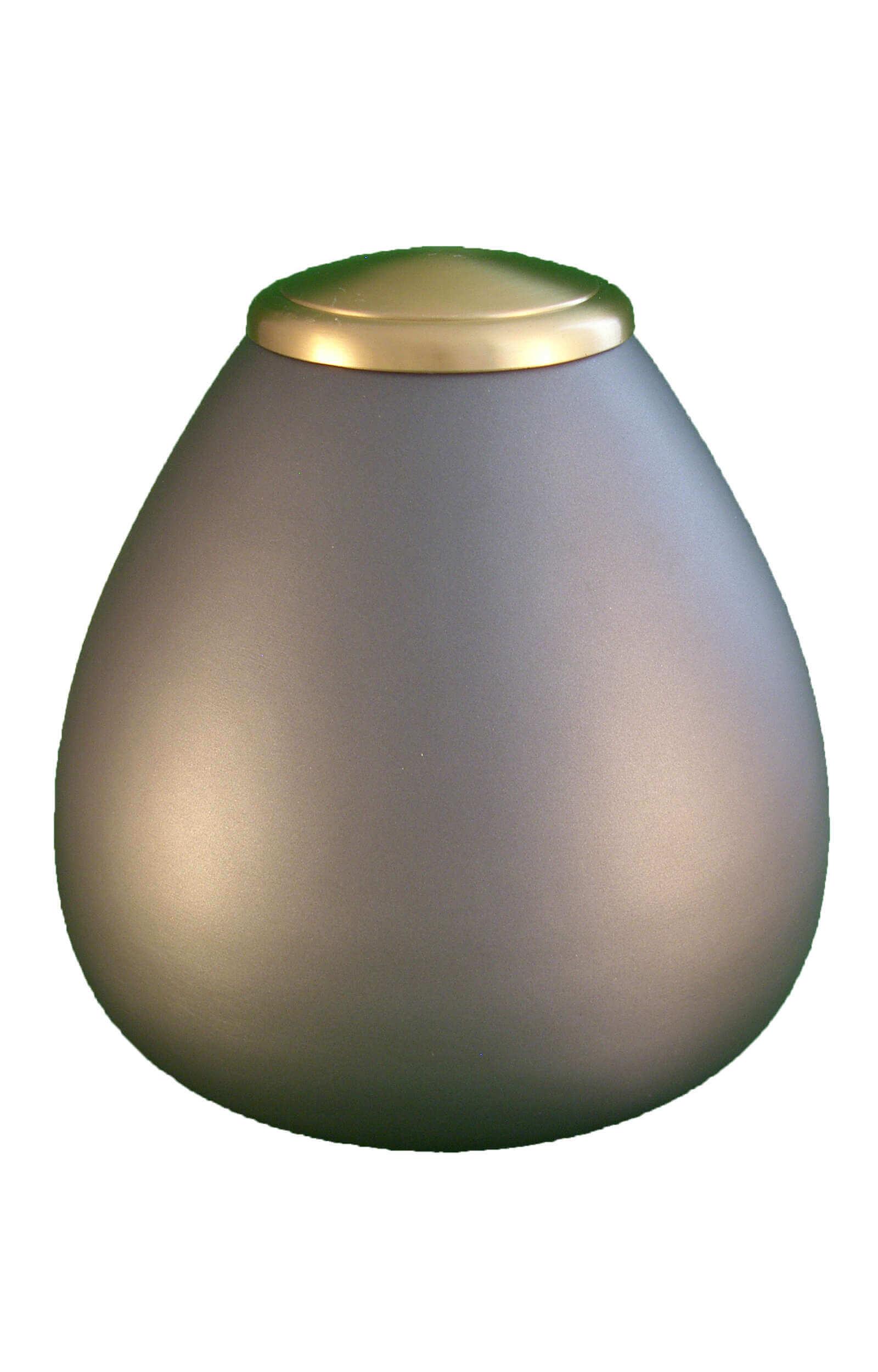 en TIB907 classic grey and gold pet urn jpg