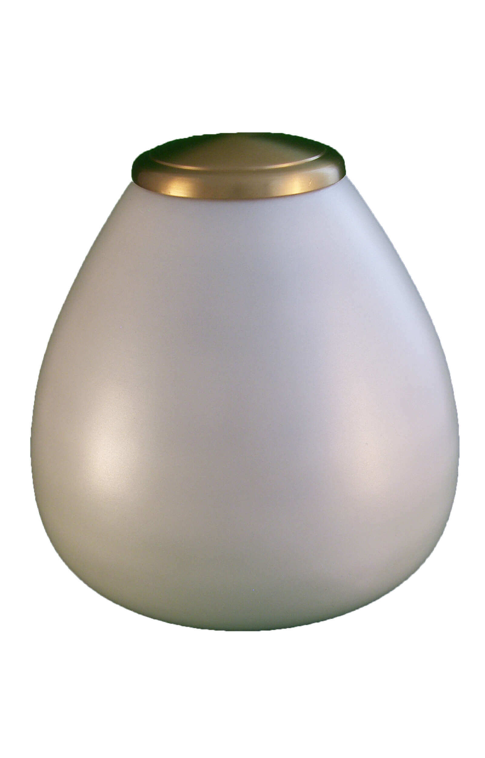 en TIB911 classic white and gold pet urn jpg