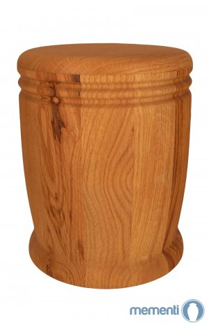 en HR13 wild oak wood urn