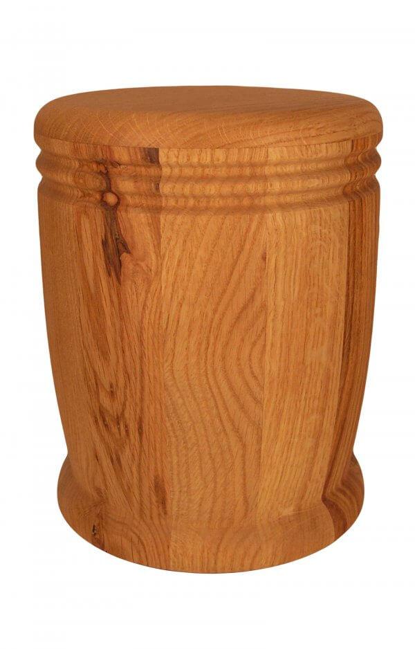 en HR13 wild oak wood urn