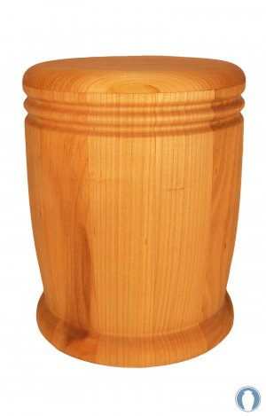en HR14 wild cherry wood urn