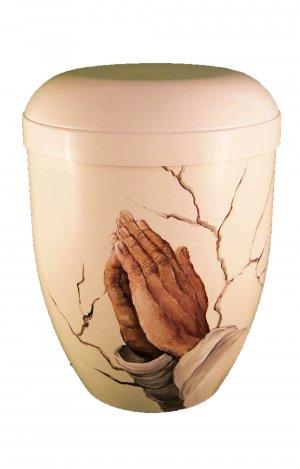 en WG107 hand painted biodegradable urn