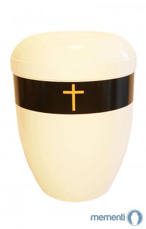 Gold Cross bio adult urn