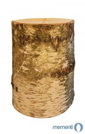 Biodegradable wooden urn